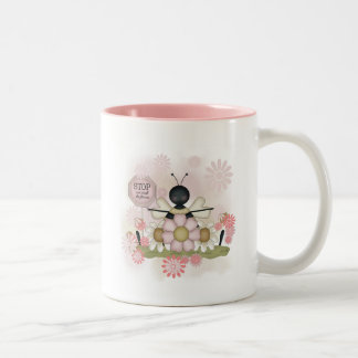 Bee Smell the Flowers Tshirts and Gifts Coffee Mug