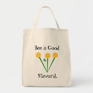 Bee Stewardship Farmer's Market Bag