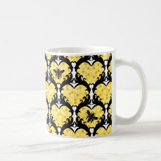 Bee Still My Heart Honey Bee Beehive Mug