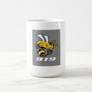 bee sting basic white mug