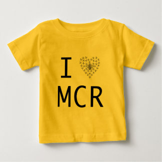 Bee Strong / I love Manchester Baby T-Shirt