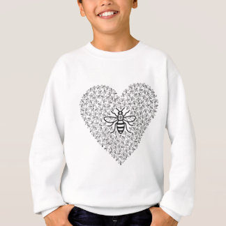 Bee Strong / I love Manchester Sweatshirt