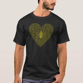 Bee Strong / I love Manchester T-Shirt