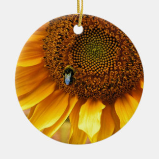 Bee Sunny Christmas Ornament