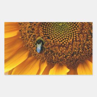 Bee Sunny Rectangular Sticker