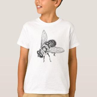 Bee T-shirt Kid's Insect Art Shirt Kid's Bug Shirt