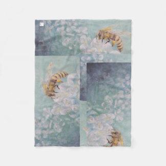 """""""Bee The Change"""" Fleece Blanket"""