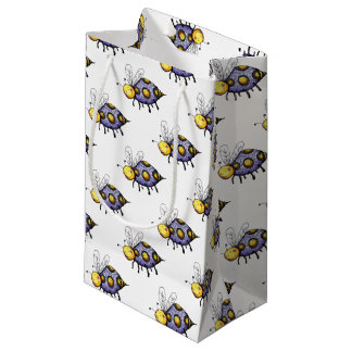 Bee Unique! Uniquely Different Bee Gift Wrapping Small Gift Bag