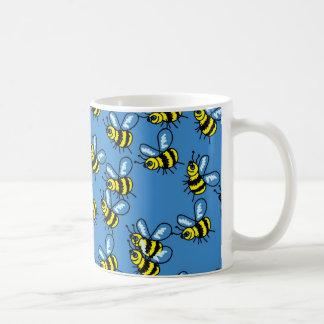 Bee Wallpaper Basic White Mug