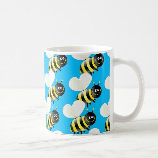 Bee Wallpaper Mug