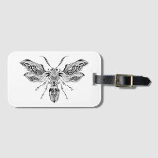 Bee-Wasp Tattoo Bag Tag