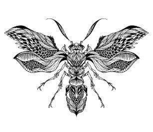 97dff960706e7 Bee Tattoo Invitations & Stationery | Zazzle UK