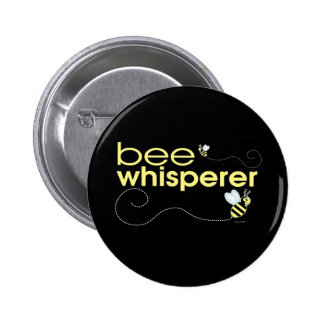 Bee Whisperer 6 Cm Round Badge