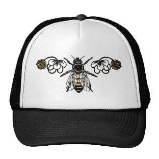 bee with clover cap