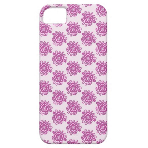 Bee with swirls iPhone 5 cases