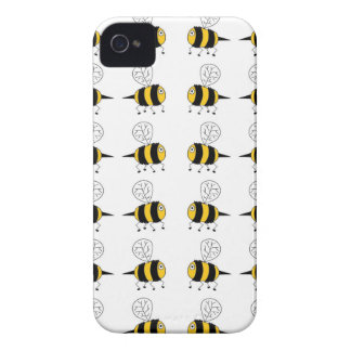 bee -  yellow Case-Mate iPhone 4 cases
