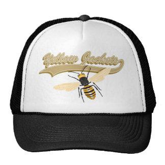Bee Yellow Jackets Cap