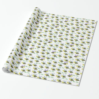 Bee You Wrapping Paper