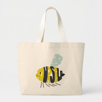 Bee Yourself Large Tote Bag