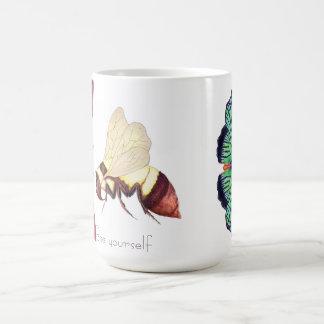 Bee Yourself Basic White Mug