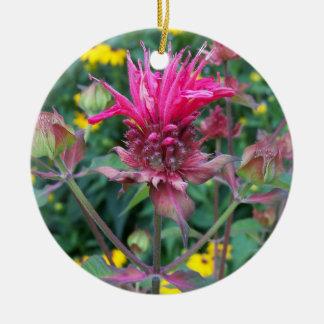 Beebalm Flower Ornament