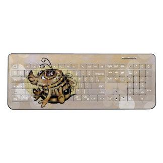 BEEBEE ALIEN CUTE Custom Wireless Keyboard