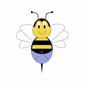 BeeBee Bumble Bee Ornament Photo Sculpture Decoration