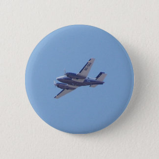 Beech B90 King Air 6 Cm Round Badge