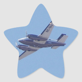 Beech B90 King Air Star Sticker