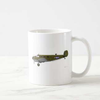 Beech C-45 Expeditor Army Air Corps Mugs