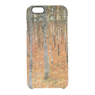 Beech Forest by Gustav Klimt Clear iPhone 6/6S Case