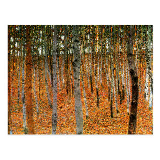 Beech Forest by Gustav Klimt Fine Art Postcard