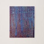 Beech Forest by Gustav Klimt Jigsaw Puzzle