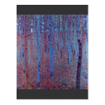 Beech Forest by Gustav Klimt Post Cards