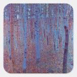 Beech Forest by Gustav Klimt Sticker