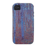 Beech Forest by Gustav Klimt, Vintage Art Nouveau Case-Mate iPhone 4 Case