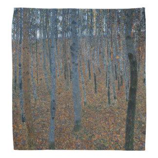 Beech Grove I by Gustav Klimt Bandana