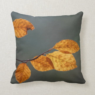 Beech leaf cushion
