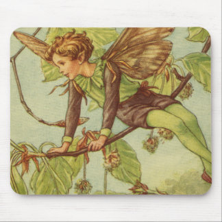 Beech Tree Fairy by Vision Studio Mouse Mat