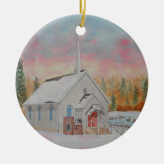 Beech Valley United Methodist Church Christmas Ornament