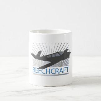 Beechcraft Aircraft Basic White Mug