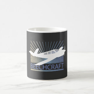 Beechcraft Aircraft Basic White Mug