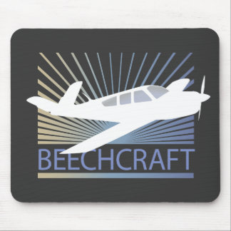Beechcraft Aircraft Mouse Pad
