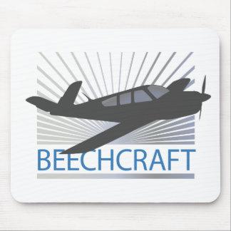 Beechcraft Aircraft Mouse Pad