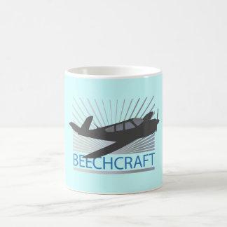 Beechcraft Aircraft Coffee Mugs