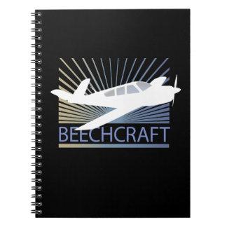 Beechcraft Aircraft Notebooks