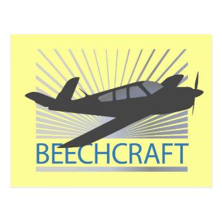 Beechcraft Aircraft Postcard