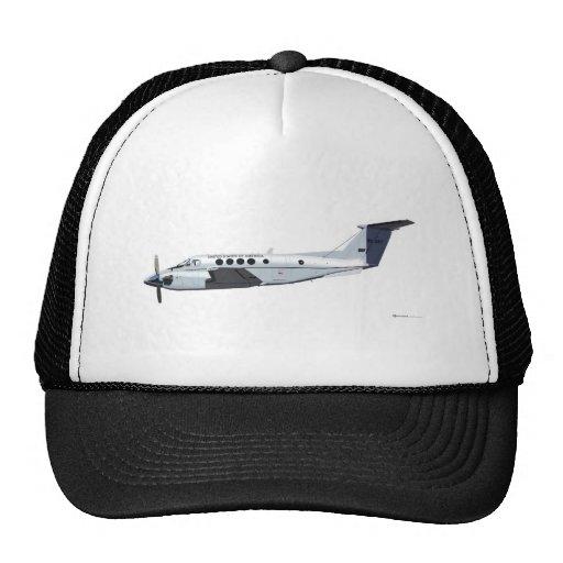 Beechcraft C-12 Huron Trucker Hats