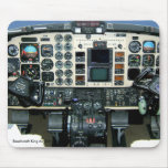 Beechcraft King Air 350 Instrument panel Mouse Pad