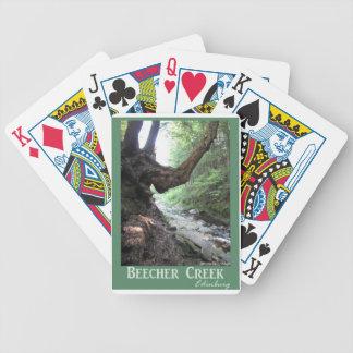 Beecher Creek Edinburg Bicycle Poker Deck